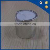 28/410 Aluminum Daily Cosmetic Disc Top Cap,Press Top Cap,Aluminum Silver/gold Disc Top Cap