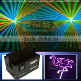 Outdoor RGB animation DJ light / 2 watt High power laser show system/ OEM wholesale stage laser