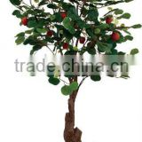 Decorative GRC trunk Artificial apple tree