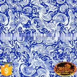 Unique&Special Dazzle Graphic Blue Feature Pattern Hydro Dipping Film No.M-10512 Design hydrographic paint water transfer film