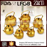 All size aluminium yellow brew kettle for sale