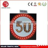 Solar Speed Limit 50km/h Signs
