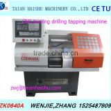 CZK0640A cnc metal lathes with driling head, for metal working with high precision