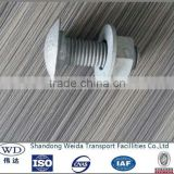 M16 Hex head Bolt and Nut for Highway Construction