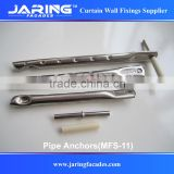 SS304/A2 Pipe Anchor for wall cladding fixings (MFS-11)