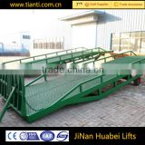 Full hydraulic drive high-quality container loading equipment mobile ramp