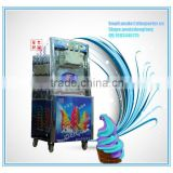 hot sell rainbow soft ice cream machine/ counter top soft serve ice cream machine/ cheap italian ice cream machine