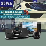car camcorder For safe driving circle recording car dash camera video recorder gps car camcorder