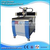 Small Name Plate Engraving Machine CNC 6090 With Mach3 Control Stainless Steel Water Slot Auto Tool Calibration ZK6090-3200W OEM