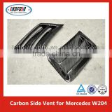 Car Air Intake Flow Vent Fender Decoration Side Hood Cover Badge for Mercedes C class W204