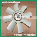 China OEM New Excavator DH300-5 DH300-7 Engine Cooling Fan Blade 8 Blade 6 Hole for Doosan