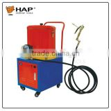 Convenient 30L electric grease pump with wheels