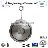 Hot Sale PN10/PN16 Stainless Steel Single Plate Water & Gas Control Non Return Swing Check Valve