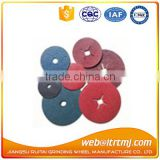 fiber sanding disc with grinder for stone marble wood metal
