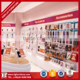 retail mobile phone floor standing display units