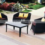 Rattan Sofa Set Black/ Outdoor Furniture Wicker Sofa Set (BZ-SF001)