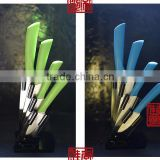 Colourful Top Quality Durable 100% Food Contact Safety Colorful Handle Titanium Professional Knives