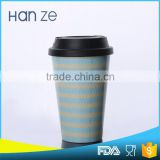 Factory wholesale customize change color paper coffee cup sleeve