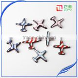 Hot Sale Unisex Acrylic Korea Airplane Brooch Pins Aircraft Corsage Brooch Set Gifts Bigbang Brand Jewelry