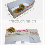 E paper packging display paper box
