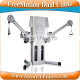 heavy duty freemotion cross gym equipment cable crossover machine