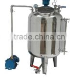 High quality stainless steel vacuum honey defoaming storage tank for sale