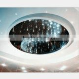 Home Novelty lobby ceiling home design, RGB sky star starry ceiling light with multi-function remote control