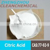 Clean Chemical High quality hot sale citric acid anhydrous food grade citric acid cheap citric acid price