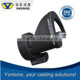 Yontone Factory Trust Worthy T6 Q345C Q345D Q345E stainless steel sand casting valve body part