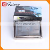 lovely metal square rolling smoking pouch cigarette box tobacco cases