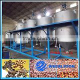Palm peanut soybean sunflower cooking oil refining machine