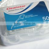 factory in China Bulk Y shape dental floss Pick