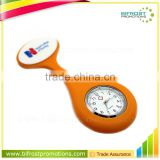 Hot Sale Brooch Silicone Nurse Watch