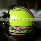 ECE/DOT open face helmet/top quality motorcycle helmet (TKH606)