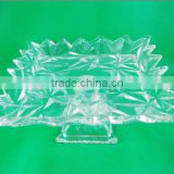 Glass fruit plate /glass plate/glassware