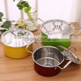 Colorful Cooking Pot Stainless Steel, Cookware Set, Kitchen ware