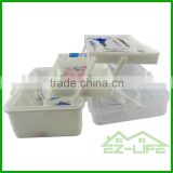china supplier of coloful plastic emergency customized precision medical storage box/bag/kit with lid and handle