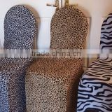 Inquiry about Fashionable Animal Print Leopard Print Spandex Strecth Eextend Chair Cover for Wedding Decoration Party Decoration
