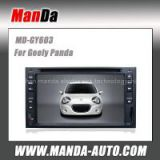 Manda car multimedia for Geely Panda two din car radio factory navigation system touch screen dvd gps