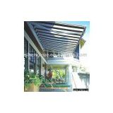 heavy small half cassette horizontal awning(SYZ-2002), out door furniture, cassette awning
