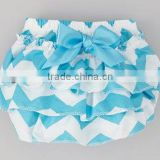 newborn baby chevron bloomers diapers baby panties bloomers comfortable baby chevron chirstmas cotton ruffle bloomers