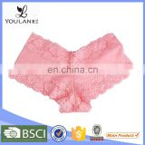 OEM Supplier Beautiful Cute Style Flower Lae Teen Girl Underwear