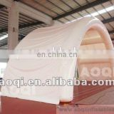 2016 AOQI new style inflatable arch tent outdoor inflatable folded tent for sale