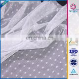 Cheap Tricot Mesh Wholesale Design Fabrics Curtain For Door