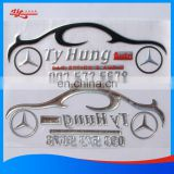 Custom wholesale bumper sticker printing and 3D sticker with 3M adhesive