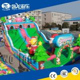 Hot sale inflatable bouncing slide dry inflatable bouncer slide inflatable castle slide