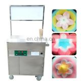 Commercial cart cotton candy machine /snack machine for street veondor