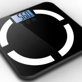 bluetooth USB charging BMI health scale body fat scale GBF1531 LCD display 150kg/100g