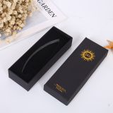 Black soft close paper drawer packaging box