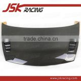 MUGEN RR STYLE CARBON FIBER HOOD BONNET FOR 2006-2009 HONDA CIVIC 4DR (JSK121032)